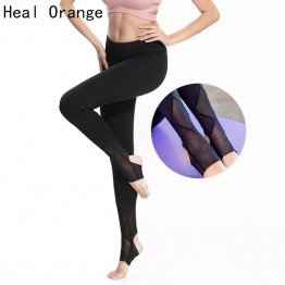 HEAL ORANGE Woman Sport Leggins Gym Running Tights Active Wear Calzas Deportivas Mujer Fitness Legging Yoga Legging Sports Pants