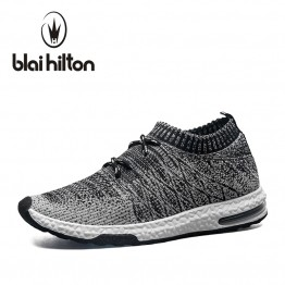blaibilton 2018 Summer Spring Men Casual Shoes Breathable Mesh Slip-On Male Fashion Footwear Walking Unisex Couples Sneakers